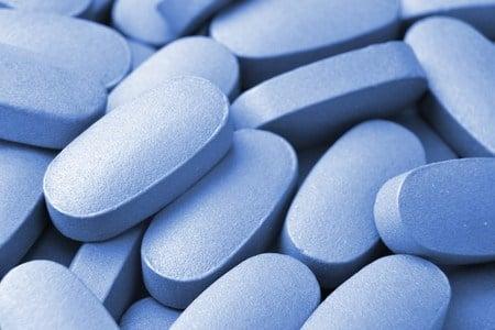 Голубые таблетки