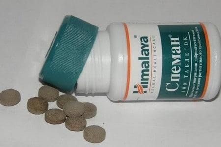 Оригинальная упаковка и таблетки средства