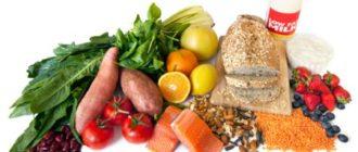 Рацион питания и продукты для диеты при аденоме простаты у мужчин