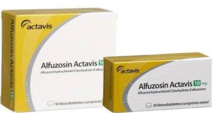 Две таблетки Альфузозина