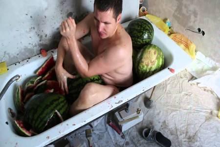 Арбузная ванна