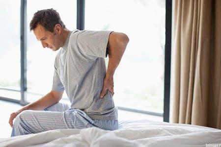 Причины и лечение боли в спине при простатите