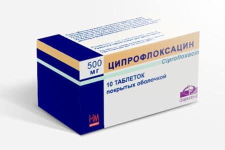Ципрофлоксацин в таблетках