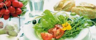Питание после биопсии предстательной железы: список полезных и запрещенных продуктов
