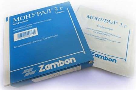Способ применения Монурала от простатита у мужчин: отзывы