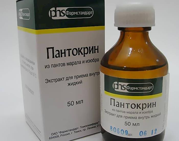 Пантокрин от атонии предстательной железы