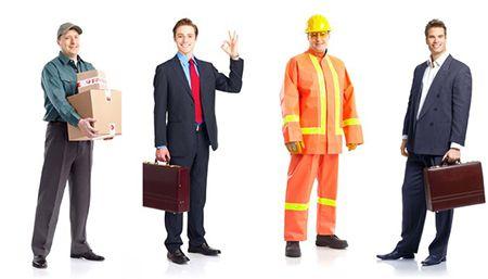 мужчины разных профессий
